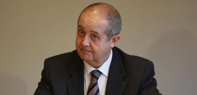 El 'conseller' Felip Puig, en una reunión de Govern. FERRAN NADEU