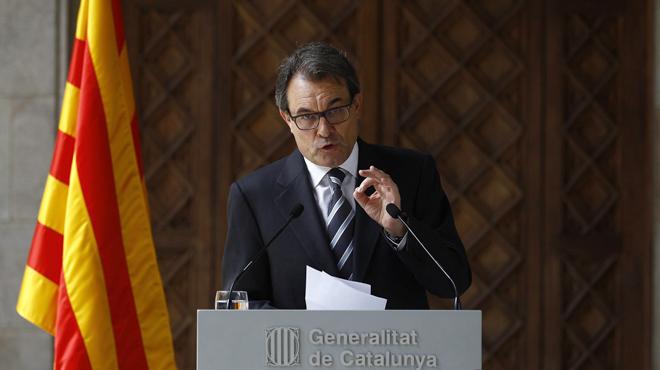 Mas: Hi haurà canvi de rei però no canvia el procés català