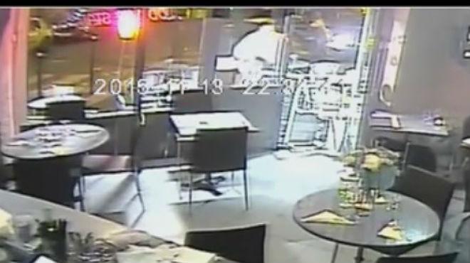 Imágenes del atentado en uno de los restaurantes de París