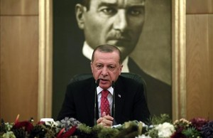 jregue39759396 backdropped by a poster of mustafa kemal ataturk the founde170821181009