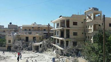 L'aviació d'Assad bombardeja un hospital maternoinfantil