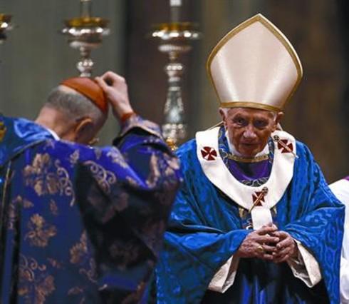El Papa carga contra las luchas intestinas de la Iglesia católica