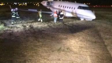 L'avió de Cristiano Ronaldo, accidentat a Barcelona