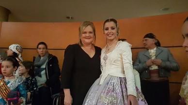Dimiteix la presidenta d'una falla que vol donar honors a la Fundación Francisco Franco