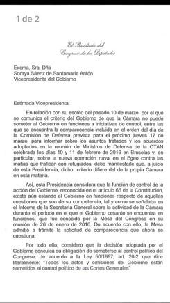 El Congreso echa un pulso a Rajoy