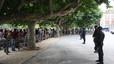 Els concentrats davant el Parlament marxen sense incidents a petició dels organitzadors de la manifestació