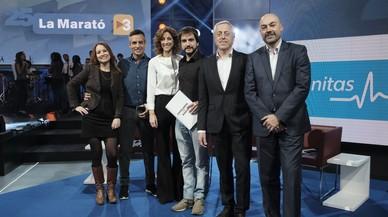 'La Marató' de TV-3 celebra les seves bodes de plata