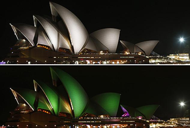 Más de 7.000 ciudades en 152 países participan en La Hora del Planeta