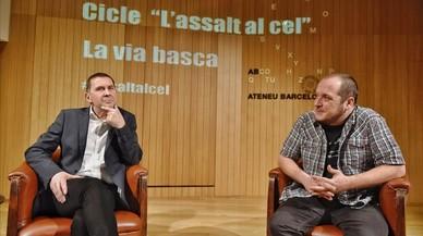 """Otegi creu que Puigdemont anirà """"fins al final"""" i que el procés no té marxa enrere"""