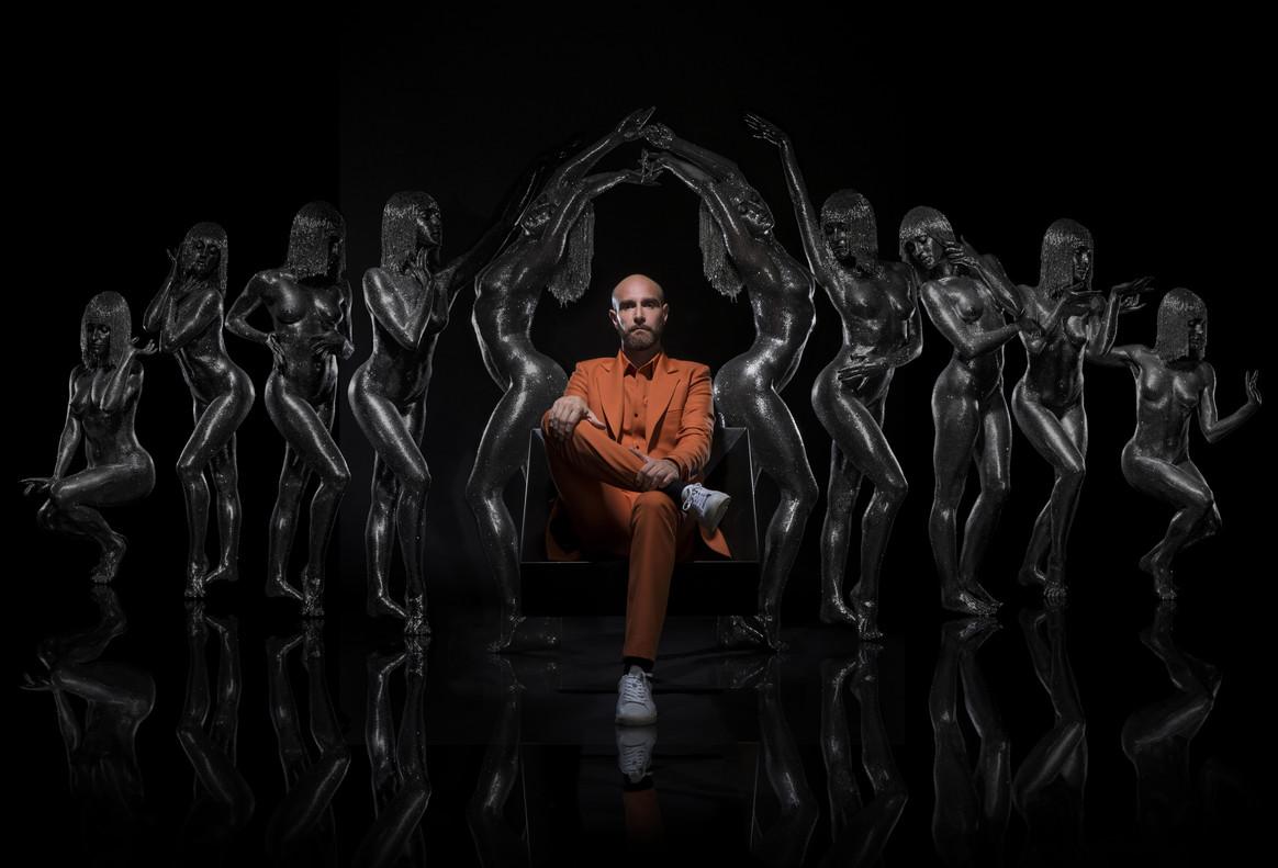 El ídolo electro/techno Vitalic, en una imaen promocional.
