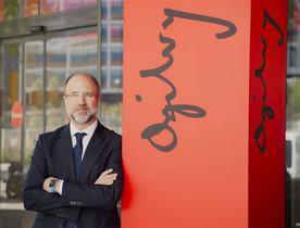 Jordi Urbea en la sede de Ogilvy en Barcelona.