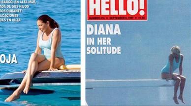 Isabel Pantoja posa com Lady Di