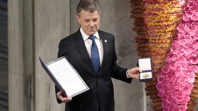 El Nobel culmina el procés de pau de Colòmbia