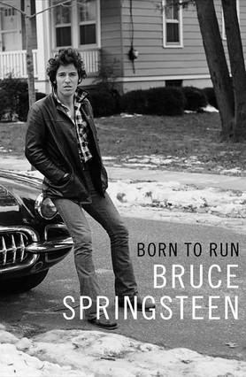Portada del libro de memorias de Bruce Springsteen.