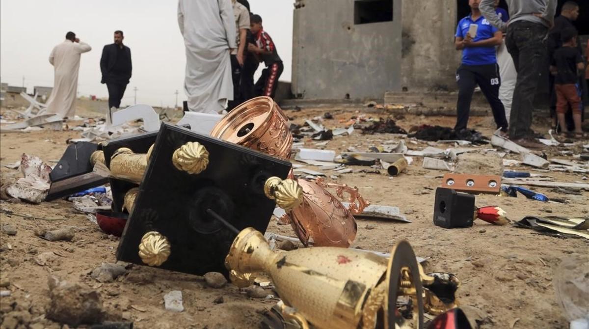 Irak tambi�n llora a sus v�ctimas del Estado Isl�mico