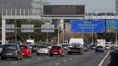 Madrid amplia para el jueves las restricciones de tráfico por contaminación
