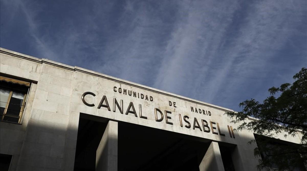 Prisión con fianza de cuatro millones para la exdirectora financiera del Canal de Isabel II