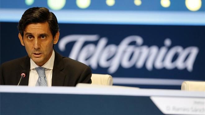 Telefónica va guanyar 2.369 milions el 2016, gairebé quatre vegades més que en l'exercici anterior