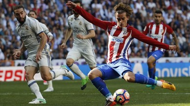 Griezmann amarga la tarda al Madrid