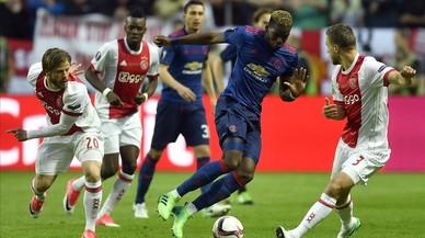 El United anul·la l'Ajax i aixeca l'Europa League