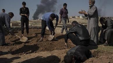 """EEUU admite 352 víctimas civiles """"involuntarias"""" en Siria e Irak desde el 2014"""