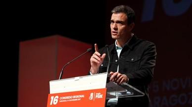 """Sánchez respon a Rajoy: """"Parlar es parla del temps, la Constitució es defensa, s'aplica i s'actualitza"""""""