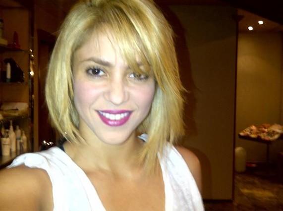 Shakira, con su nueva imagen.
