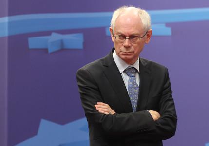 La ue reitera que el ajuste es la piedra angular anticrisis for Presidente del consejo europeo