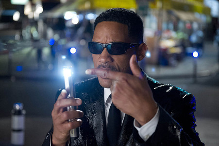 2012. Will Smith y el borrador de memoria. 'Men in black' llega este ao a la tercera entrega.