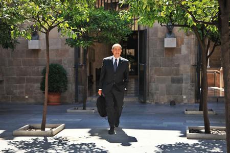 Felip Puig, a la Generalitat, el juliol passat.