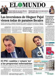 El Mundo, 8-1-2013.