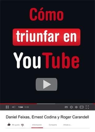 Imagen del libro 'CómoTriunfar en Youtube'