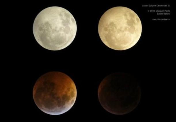 Eclipse total de luna del 21 de diciembre del 2010