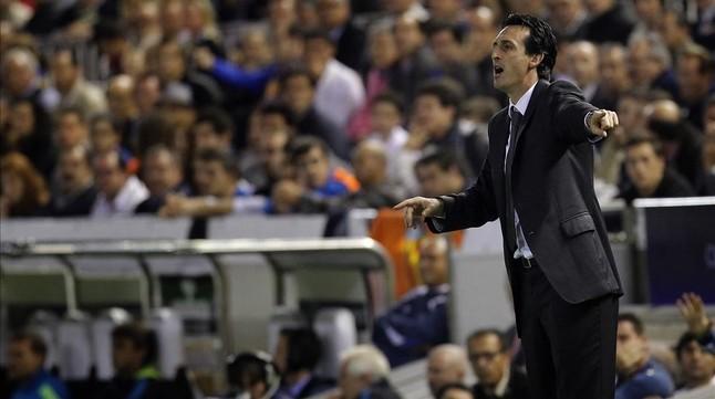 Emery, entrenador del Sevilla, rival del Barça en la final de la Copa.