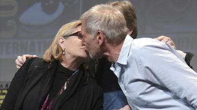 Carrie Fisher va tenir una aventura amb Harrison Ford