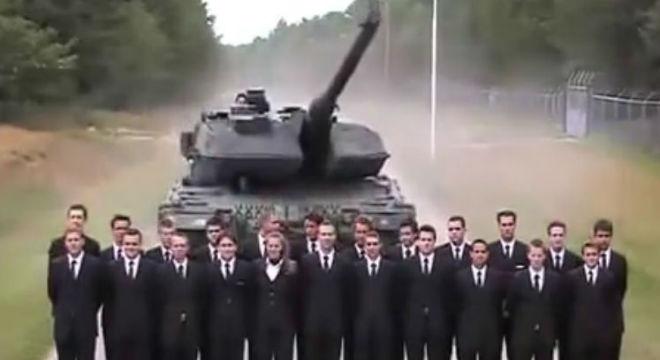 Prova dels frens dun tanc