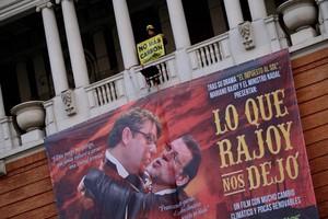 Greenpeace parodia de Rajoy en Gran Vía