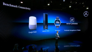 daimler what3words google home alexa