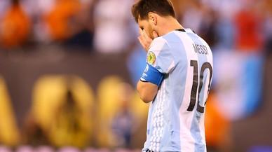 """Messi: """"La selecció per a mi s'ha acabat"""""""