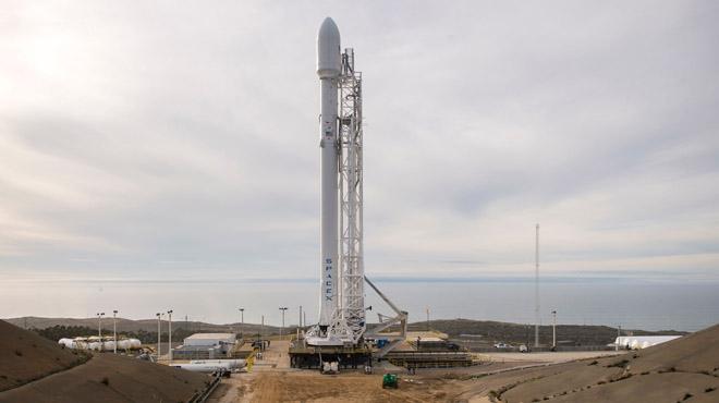 V�deo de Instagramdel aterrizaje fallido del cohete espacial Falcon