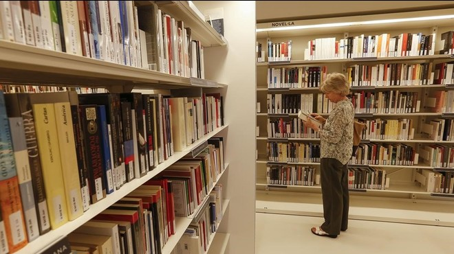 Las bibliotecas han prestado menos libros durante la crisis