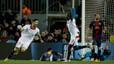 Villa y Messi reaniman a un Bar�a espeso ante el Sevilla (2-1)