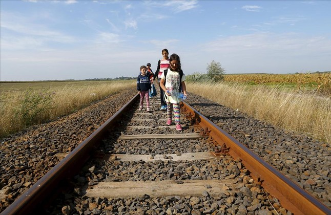 Fotografia de Reuters / Laslo Balogh publicada a El Periódico