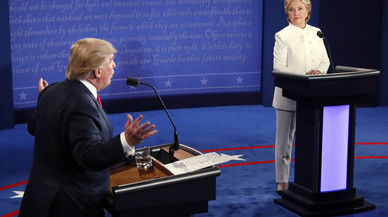 ¿Qui ha guanyat el debat entre Clinton i Trump?
