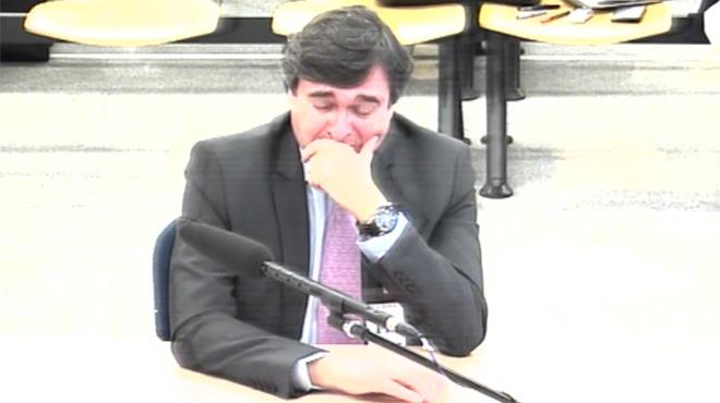 Un acusat del 'cas Gürtel' es posa a plorar en el judici