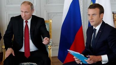 Macron, primer acte d'un president jupiterià