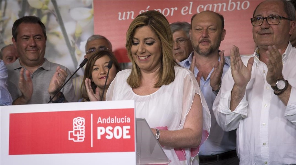 'Sorpasso' andaluz: el PP supera al PSOE de Susana Díaz