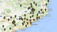 Mapa interactiu dels municipis catalans que donen suport a la consulta