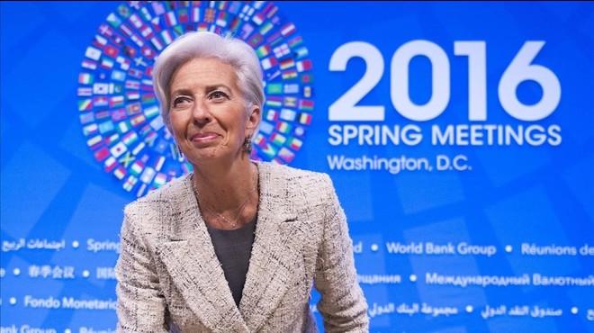 "Lagarde: ""No estem alarmats però sí alerta"""