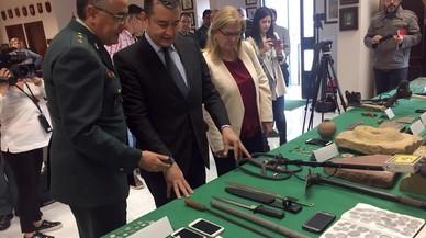Desarticulado un grupo que expoliaba tesoros arqueológicos en Jaén